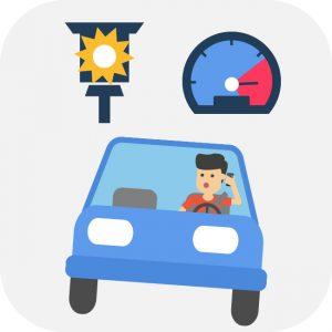 zu schnell gefahren strafzettel